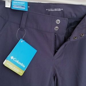 Columbia Omni-Shield Navy hiking pants